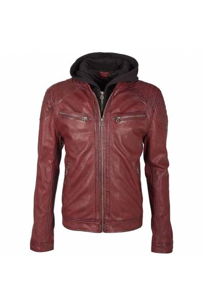 Gipsy boy Gorey 2 Ox red lamb santara vegetal  jacket
