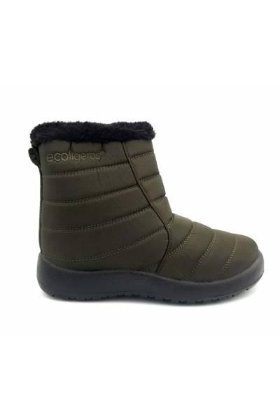 Filomena Khaki Ecolight Boot