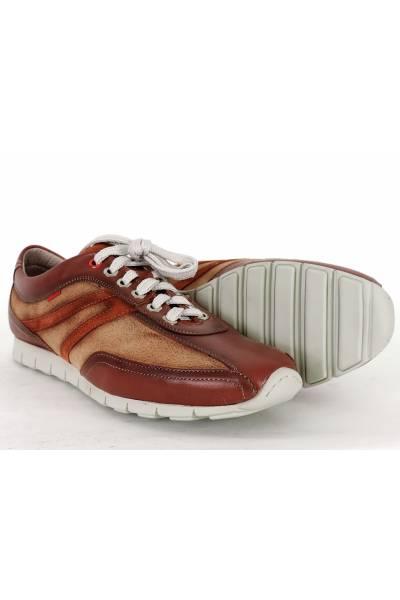 Zapato piel estilo deportivo