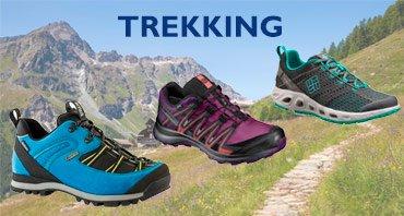 Find the best footwear for trekking