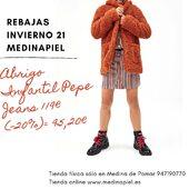 ❄️Estamos preparados para el frío❄️ #abrigo #pepejeans #tiendafísica y #tiendaonline 📞947190770 www.medinapiel.es