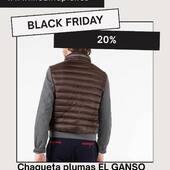 🖤#chaqueta #plumas #elganso #blackfriday 129€(-20%=103€) ref.web.706257 www.medinapiel.es