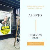 🧡#ABIERTO HASTA LAS 20:30🧡www.medinapiel.es 📞947190770 #whatsapp682157789 🧡
