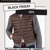 🖤#blackfriday #chaquetaplumas #elganso #129€ (-20%=103€) ref.706257 www.medinapiel.es