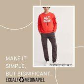 Una magnífica opción de moda #slowfashion en la que invertir #ecoalf #modasostenible www.medinapiel.es