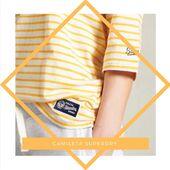 #SUPERDRY #CAMISETA COLLEGIATE IVY LEAGUE W6010960A  Ref: 710131 📲www.medinapiel.es  34,99 € (-40%=20,99 € ) Impuestos incluidos Consigue el #look colegial con esta camiseta con cuello redondo clásico y manga tres cuartos con diseño de paneles en el hombro. Completa el look con vaqueros y zapatillas deportivas.  Cuello redondo Manga tres cuartos Diseño de paneles en los hombros Gráfico del logotipo texturizado Parches con el logotipo de la marca