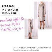 🛍#Vestido #camisero abotonado efecto cuero #rebajas30% #invierno21❄️ #tiendafísica solo en #medinadepomar #lasmerindadesburgos  #tiendaonline www.medinapiel.es